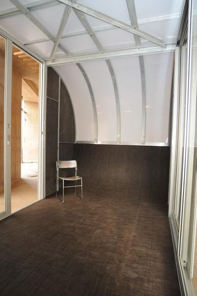 Interior of Prefab Tiny Home