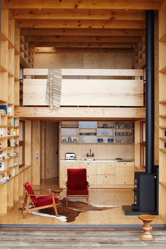 Tiny Modern Beach House with Lofts