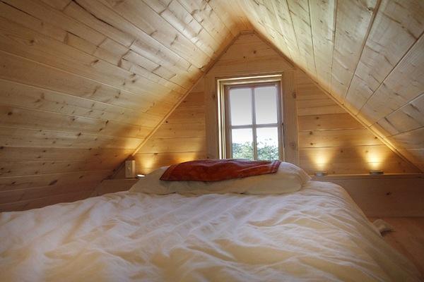 Sleeping Loft in a Tiny Home