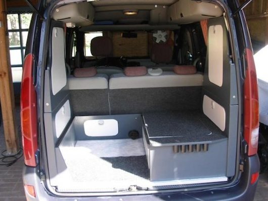 Kangoo Tiny Motorhome Conversion