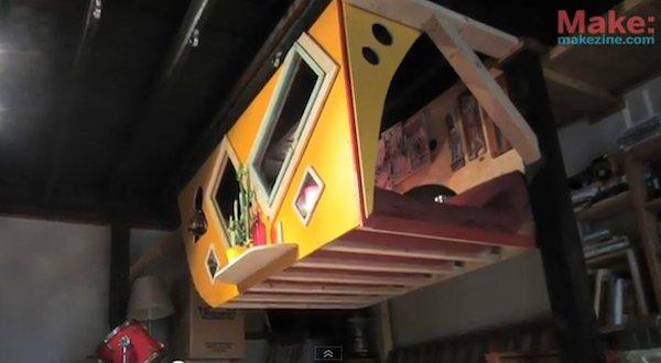 Krunk Bunk Micro Sleeping Loft