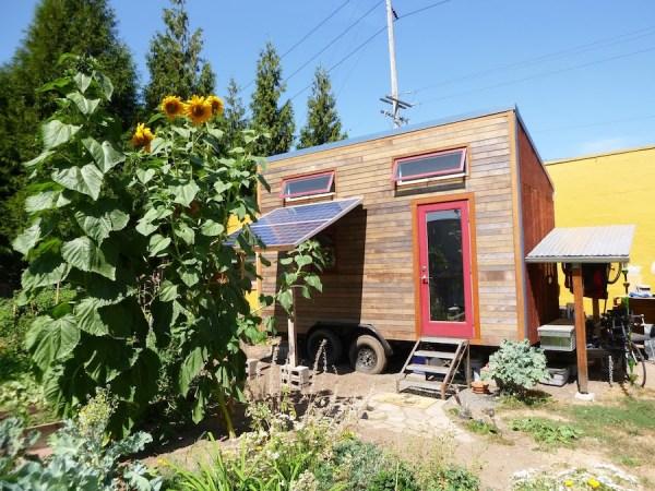 Laura's Solar-Powered Tiny House on Wheels