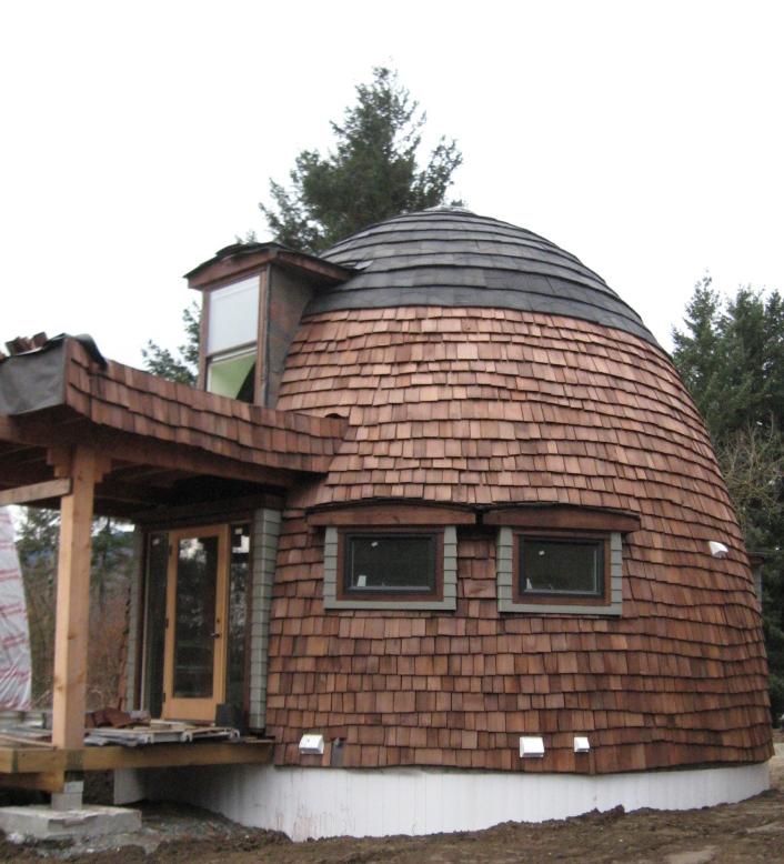 Dome Home Design Ideas: Lexa Dome Tiny Homes: 540 Sq Ft Dome Cabin