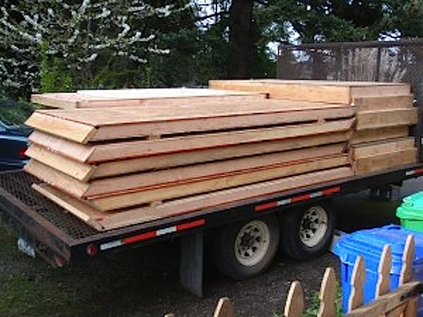 Prefab Panels Loaded for Delivery