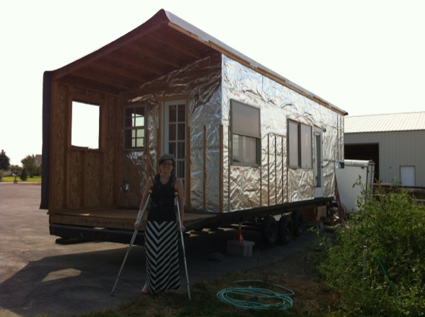 Macy's Tiny House And Safety During Construction