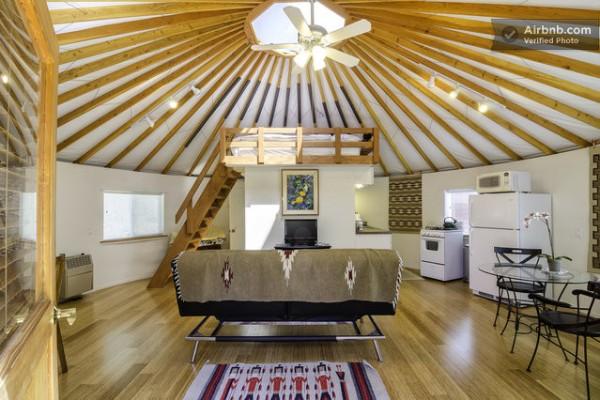 Modern Yurt Cabin You Can Rent In Malibu California