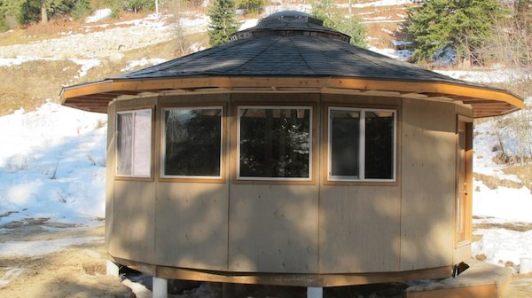 Mandala Homes 322-square-foot 21' Round Cottage