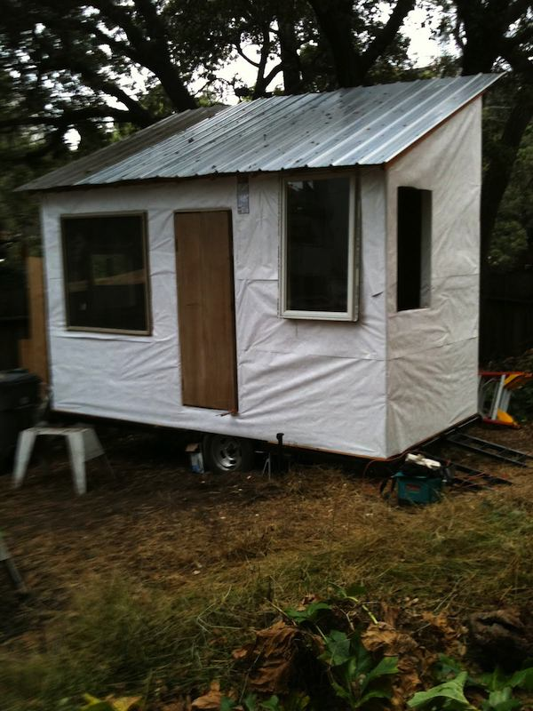 Matthew Wolpe's DIY Tiny House on a Trailer Project