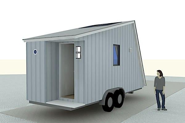 Michael Janzen's Aerodynamic Tiny House Design