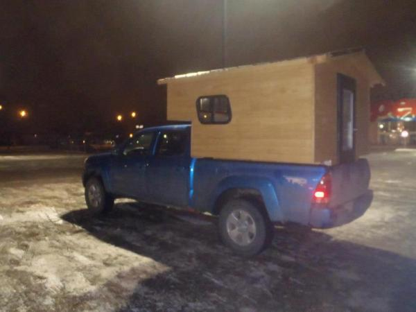 Custom Built Truck Bed Camper Micro Cabin For Your Truck