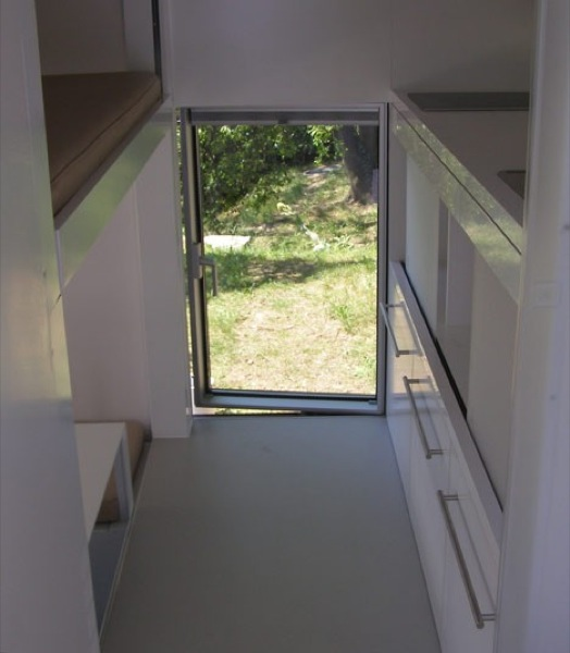 Interior of Modern Micro Compact Home