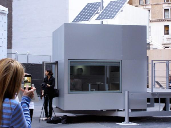 Modern Micro Compact Home on Display