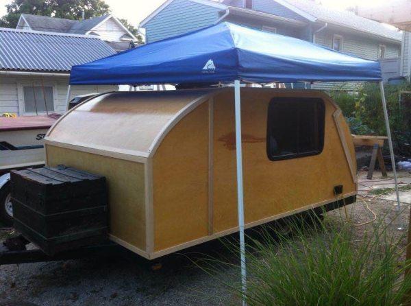 Pop Up Trailer To Teardrop Camper Project Ryan