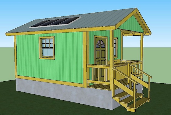 200 sq  ft  quixote cottage tiny cabin design