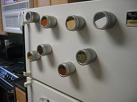 Furniture For Small Spaces 11 Magnetic Spice Racks