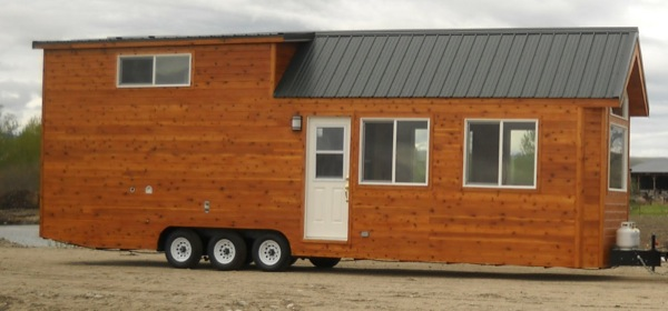Rich The Cabin Man'S Extra Long Tiny House On Wheels