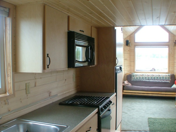 Mini Cabin Plans Do It Yourself Cabin Plans Mini House: Rich The Cabin Man's Extra Long Tiny House On Wheels