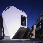 Minimalist Small House in Downtown Tokyo Japan