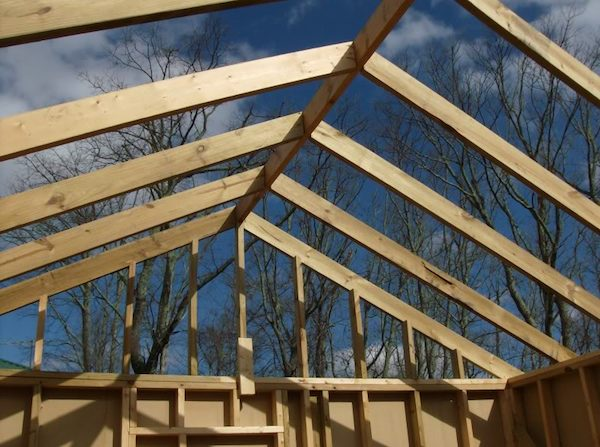Roofing a Small Cabin