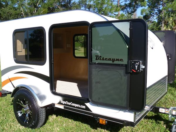 signatour campers hand made teardrop trailers in tampa florida. Black Bedroom Furniture Sets. Home Design Ideas
