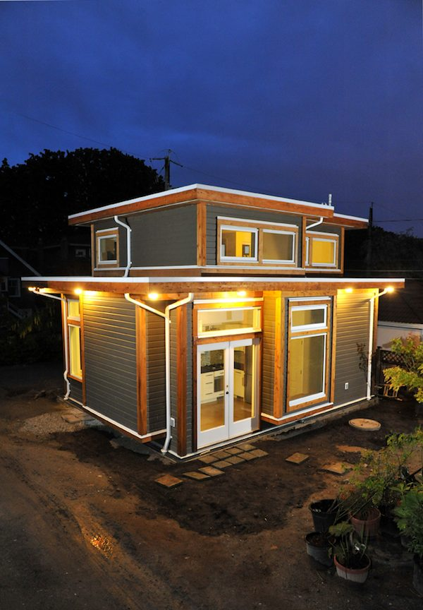 500-square-foot Small House by Smallworks Studios and Laneway Housing