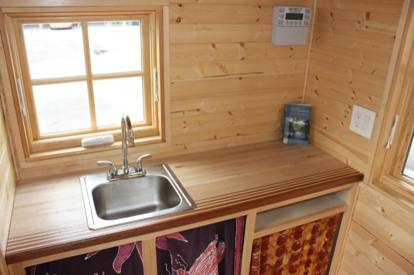 High School Students Build Solar Off Grid Tiny House For