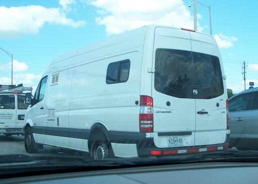 Stealth Van Dwelling
