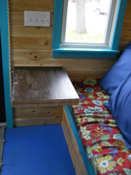 Jane's Solar Powered Tiny House with Composting Toilet, Food Storage and Bedroom (4)