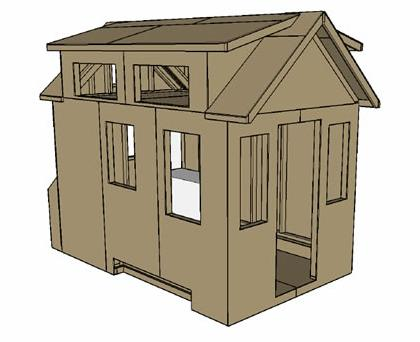 Tinier Living Tiny House Plans by Dan Louche