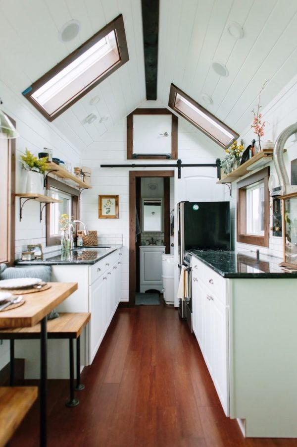 Luxury Tiny House on Wheels by Tiny Heirloom in Portland OR