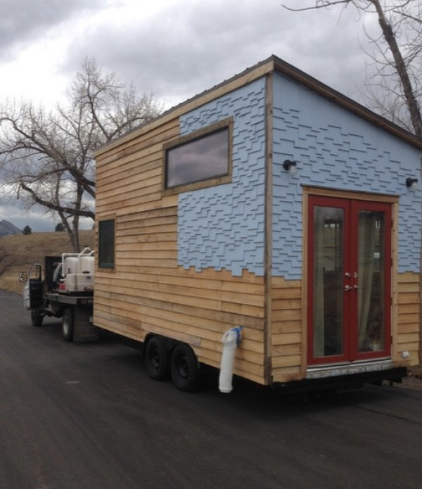 170 Sq. Ft. Tiny House on Wheels by Sustainable Arbor Works