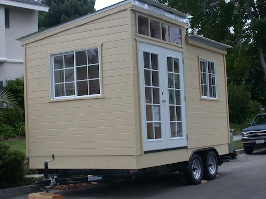 Tiny House on a Trailer by Marc Hyman of Custom Cabins