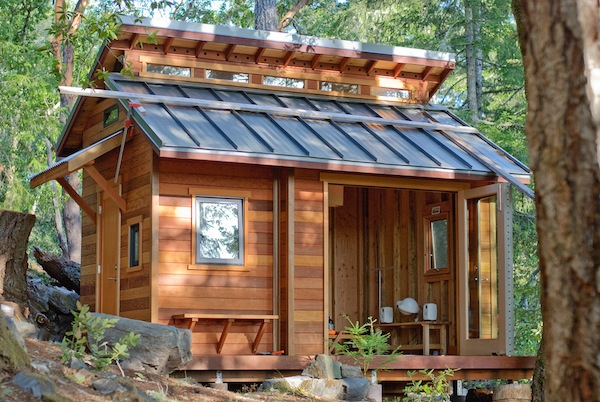 Tiny House in the Mountains