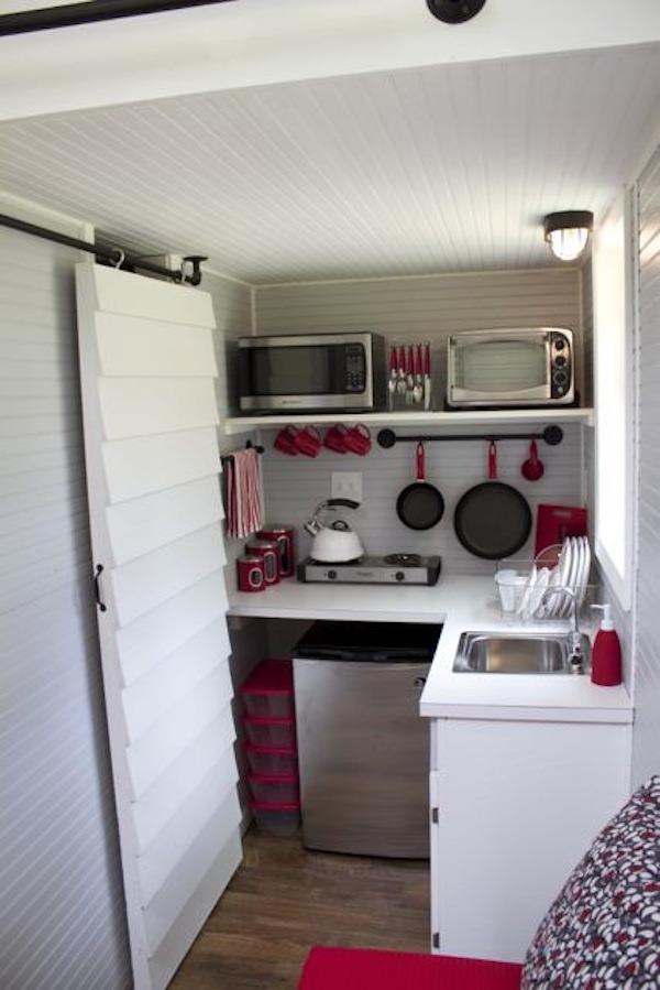 Tiny House Wheels Kitchen