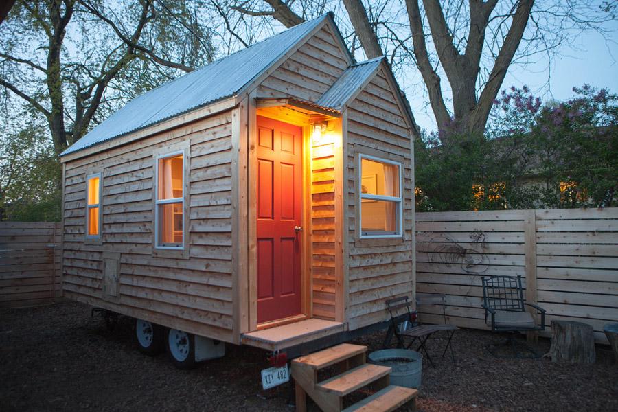 Custom Designed Amp Built Midwest Tiny House