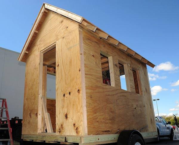 Toledo Museum of Arts Tumbleweed XS Tiny House designed by Jay Shafer