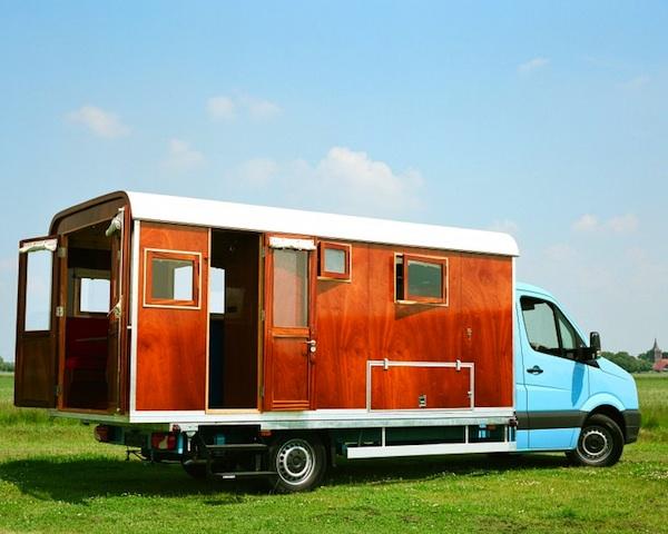 Tonke Big Blue Fieldsleeper Detachable Motorhome slash Camper from Holland