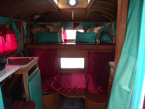 Interior of the Micro Camper