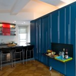 450 SF Multifunctional Small Apartment that Converts