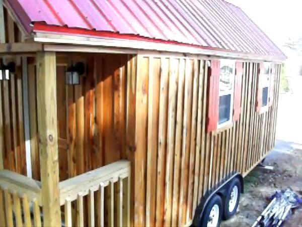 Travis Tiny House Lusby Build