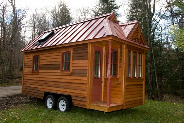 Delightful Fencl Tiny House For Sale From Tumbleweed Houses