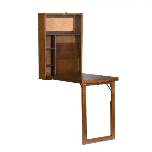 walnut-folding-wall-desk
