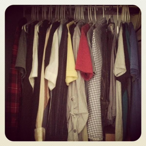 Wardrobe in Tiny Houses