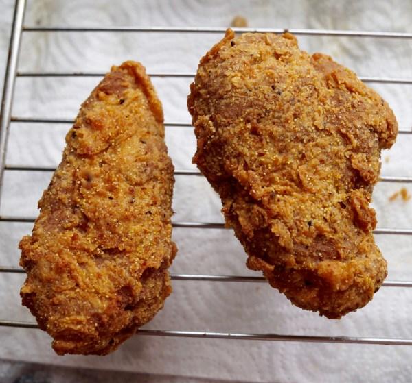vegan fried chicken