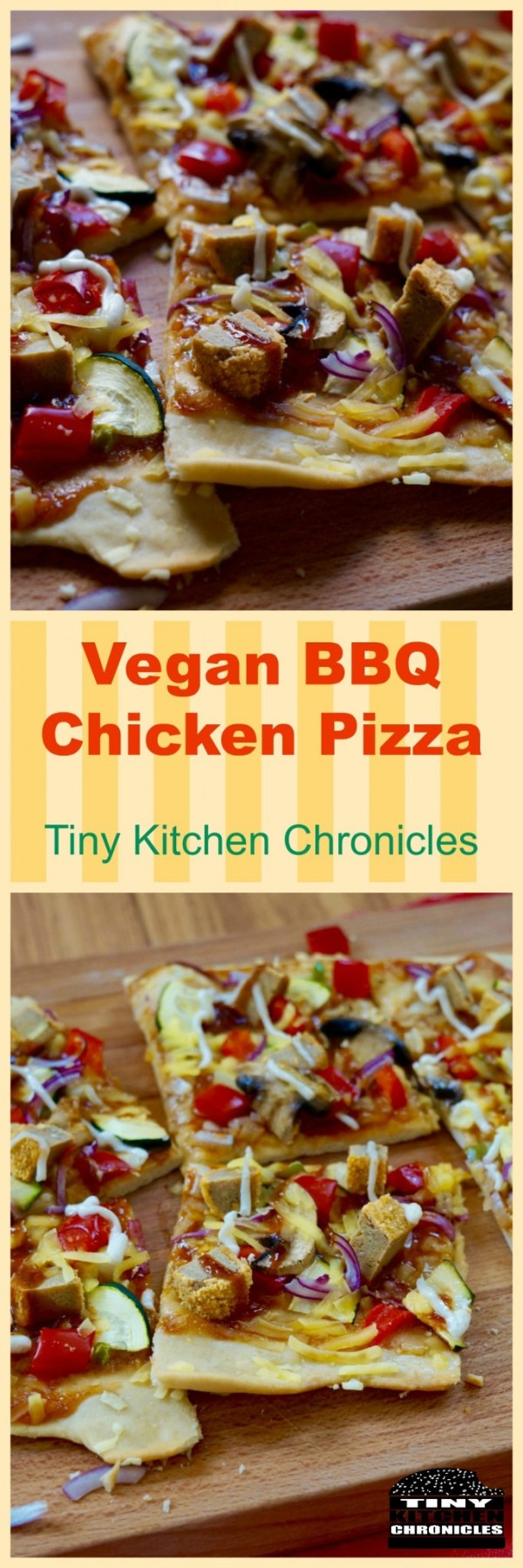 chicken pizza pinterest
