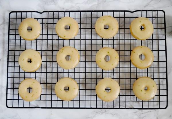vegan margarita donuts