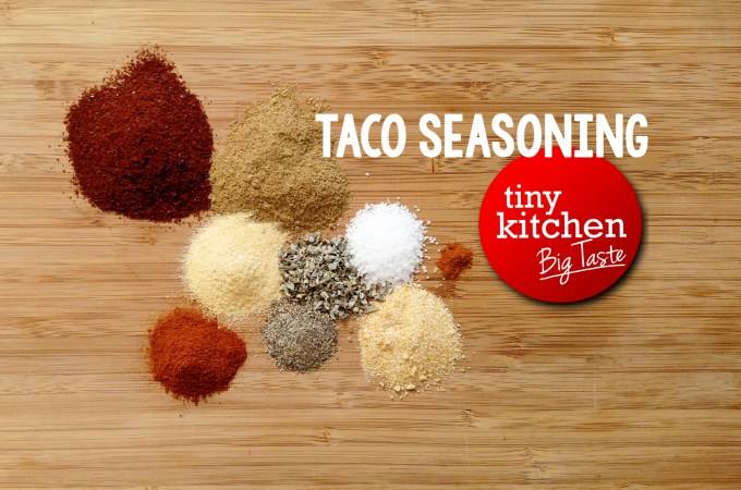 Taco Seasoning // Tiny Kitchen Big Taste