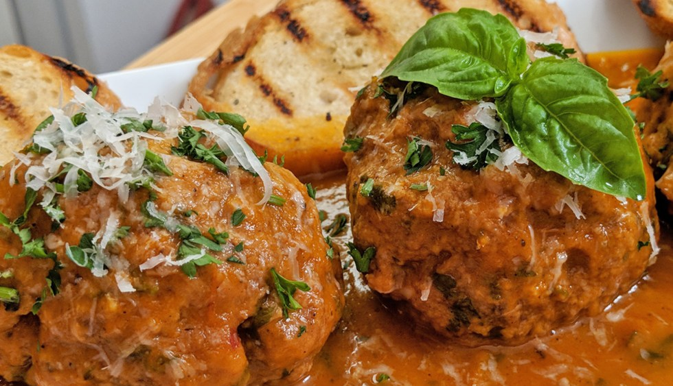 Meatballs // Tiny Kitchen Big Taste