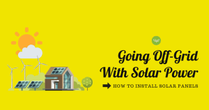 installing solar panels for tiny home