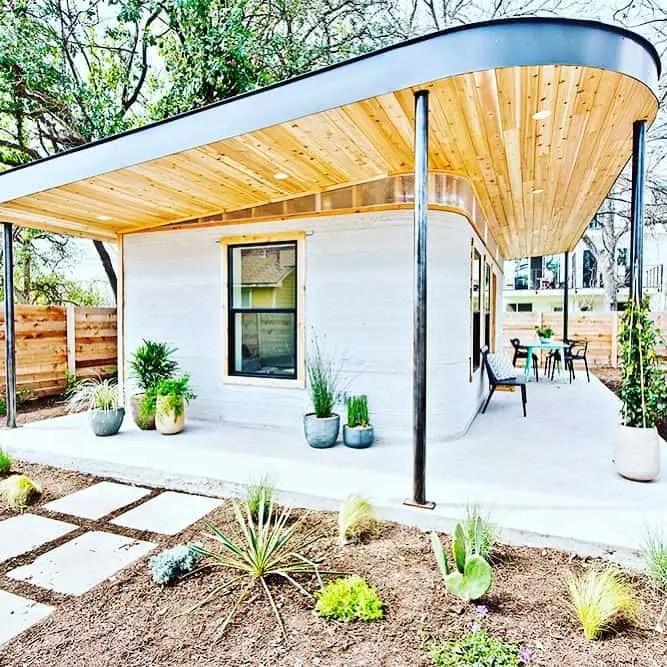 beautiful 3d printed tiny home